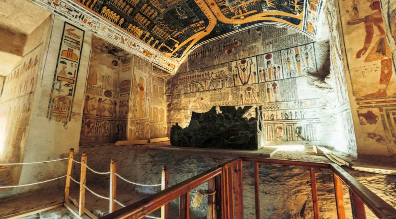 King Ramesses VI Tomb - Valley of the Kings - Egypt Tours Portal