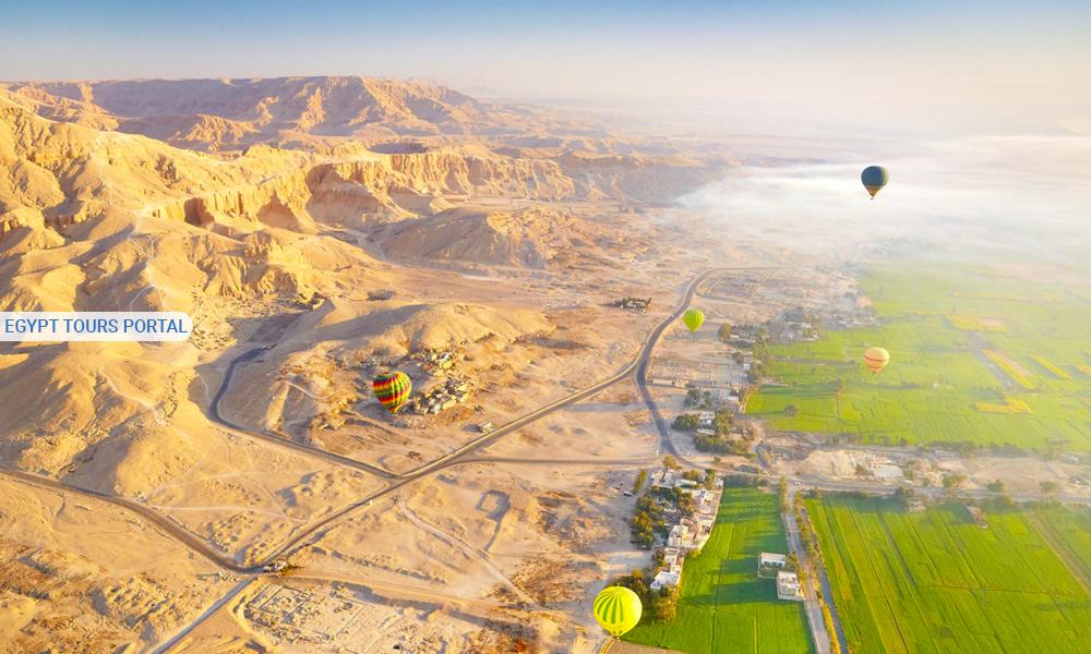 Hot Air Ballon Luxor - Best Time to Visit Egypt - Egypt Tours Portal