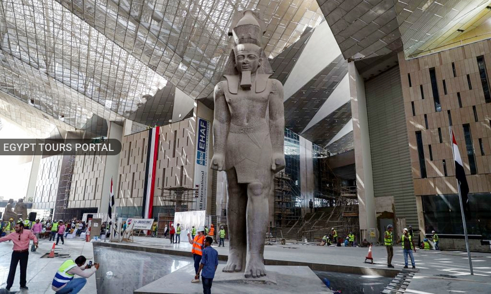 The Grand Egyptian Museum 2021 - Safety in Egypt 2021 - Egypt Tours Portal