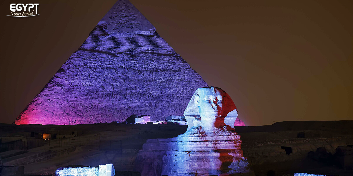 Sound and Light Show at the Pyramids - How to Spend a Night in Cairo - Egypt Tours Portal
