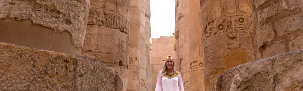 Day One:Check-in the Cruise & Explore Luxor Attractions