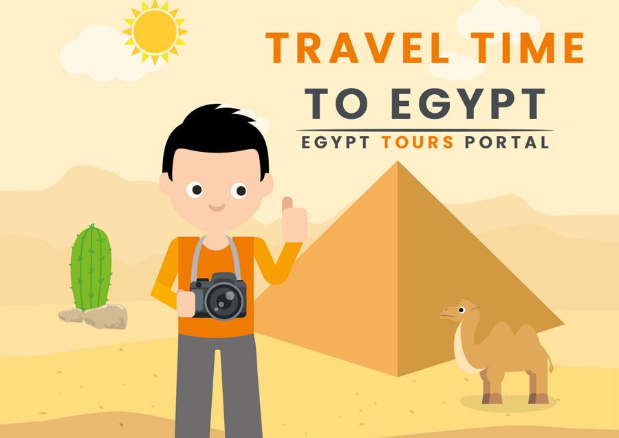Travel Time to Egypt - Egypt Tours Portal