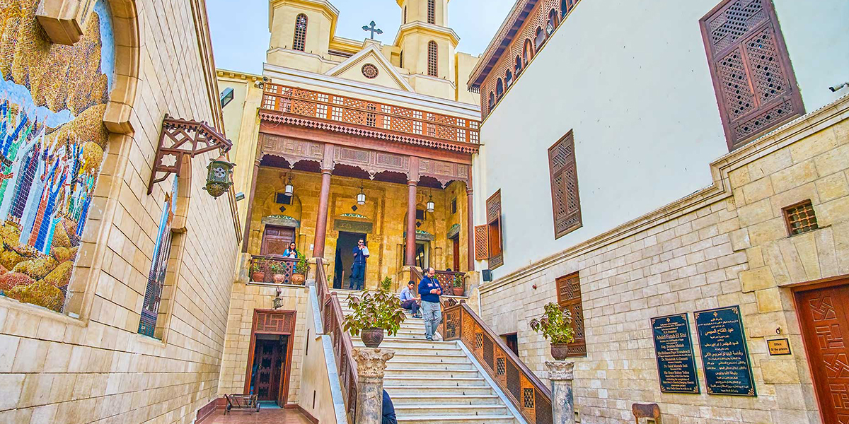 The hanging church - Christian Monuments and Monasteries in Egypt - Egypt Tours Portal
