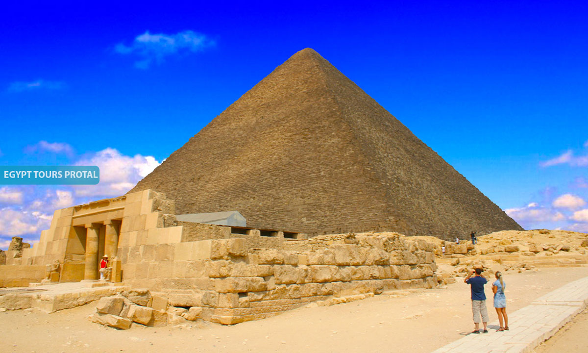Pyramid of Menkaure Facts - Egypt Tours Portal